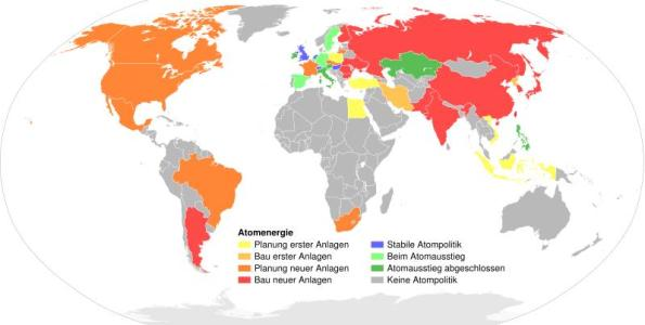Atomenergie weltweit